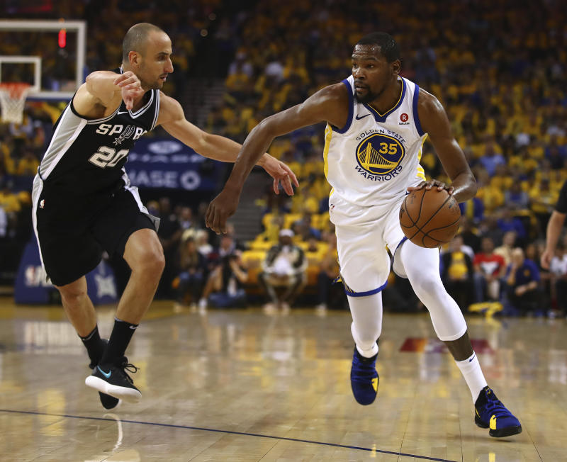 Warriors look to fight complacency in Game 2 against Spurs