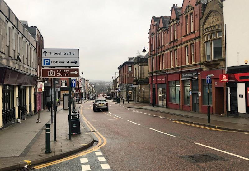 Oldham town centre (Photo: First Choice Homes Oldham)
