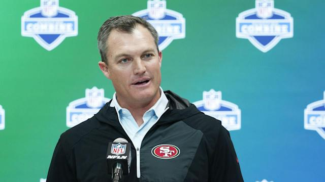 """The 49ers expect Reuben Foster to be """"full go"""" for training camp, GM John Lynch tells SN. He also is not at all worried about NaVorro Bowman's status."""