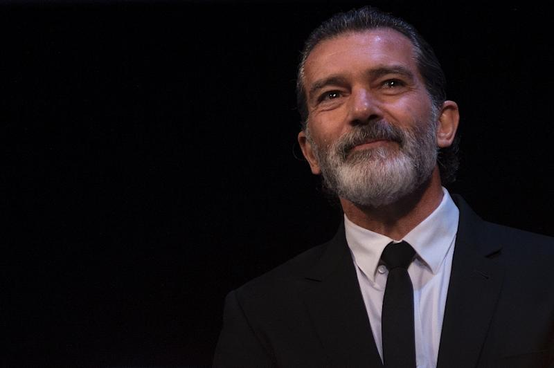 Spanish actor Antonio Banderas, pictured in March 2017, had three stents placed in his arteries after having a heart attack in January