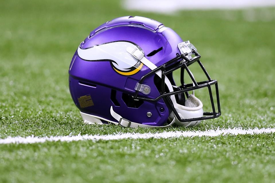The Vikings' head athletic trainer said he caught coronavirus. (Photo by Jonathan Bachman/Getty Images)