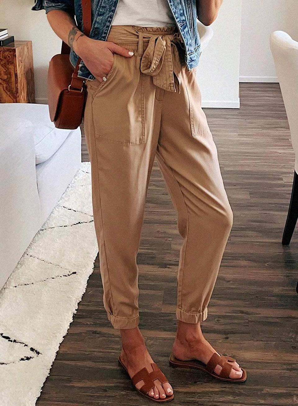 <p>The pockets on these <span>Gosopin Casual Drawstring Joggers</span> ($24) are perfect.</p>