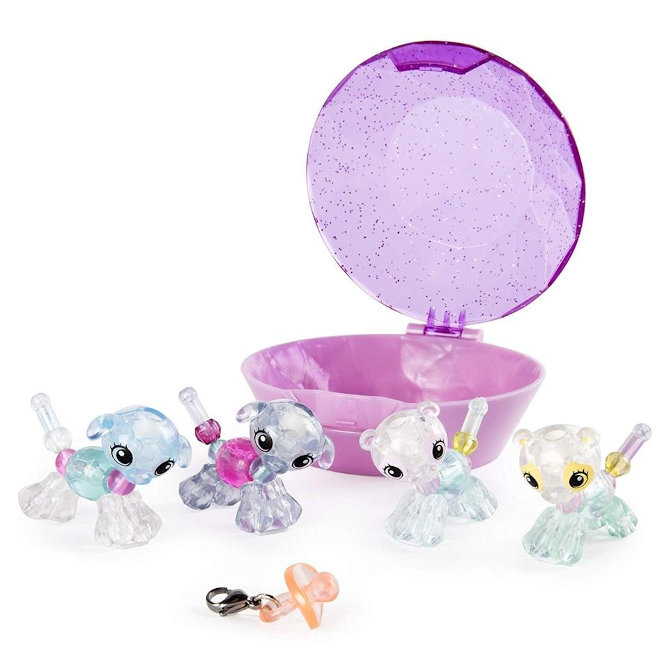 <p>These bejeweled <span> Twisty Petz </span> ($28) turn into bracelets! What's not to love about these mini toys?</p>