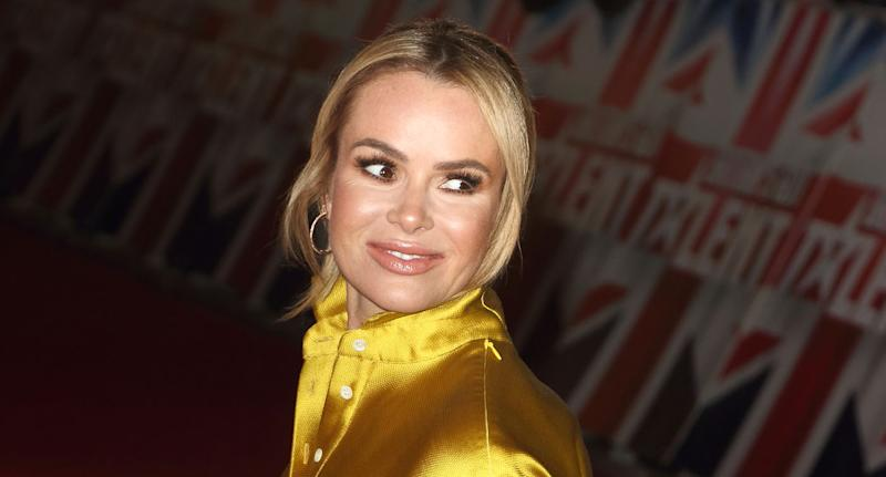 Amanda Holden has opened up about her famous 'Blind Date' appearance. (Photo by Keith Mayhew/SOPA Images/LightRocket via Getty Images)