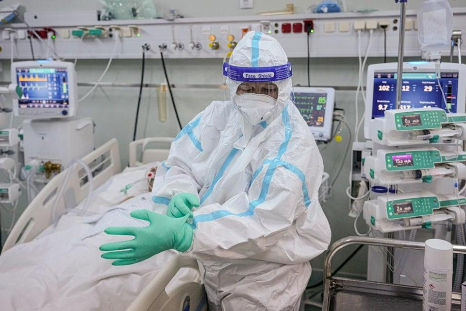 Virus Outbreak Eastern Europe Vaccinations (Copyright 2021 The Associated Press. All rights reserved.)