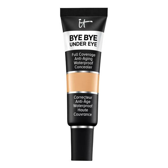 """<p>At this point, your skin is looking much better — but a little concealer will erase any leftover signs of the three regrettable polar bear shots you downed the night before. It Cosmetics Bye Bye Under Eye concealer not only hides dark circles, but it also contains hyaluronic acid, collagen and vitamins.<br /><strong><a rel=""""nofollow"""" href=""""https://www.itcosmetics.ca/en/eyes/concealer/bye-bye-under-eye----full-coverage-waterproof-anti-aging-concealer/ITC_0005.html"""">SHOP IT: It Cosmetic Bye Bye Under Eye™ – Full Coverage Waterproof Anti-Aging Concealer, $35</a></strong> </p>"""