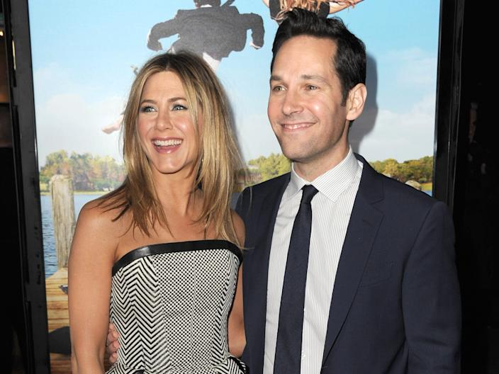 Jennifer Aniston Paul Rudd Wanderlust premiere 2012 Getty Images