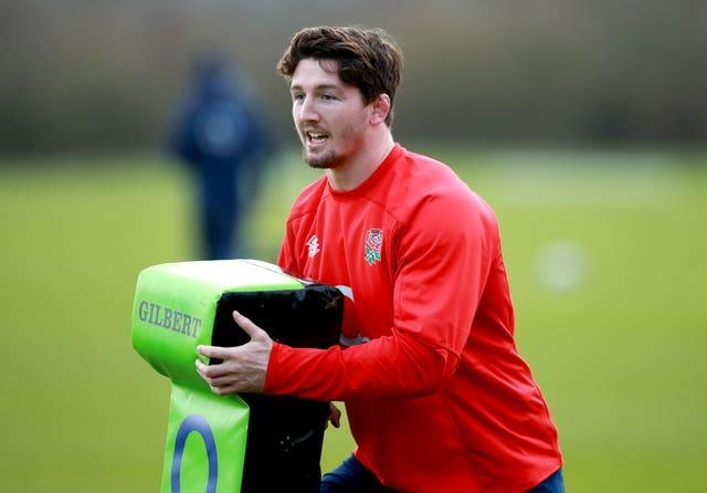 England's Tom Curry is closing in on full fitness after injury