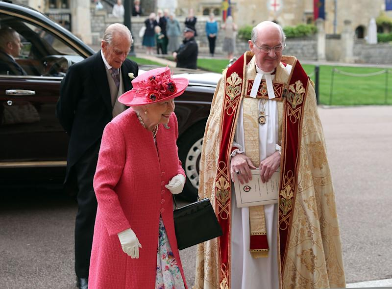 VIP Guest! See Queen Elizabeth Arrive at the Royal Wedding of Lady Gabriella Windsor