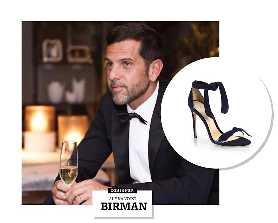"""<p>It's not often that a shoe is described as """"exotic"""" — but when it comes to Alexandre Birman's footwear, it's the word on everyone's tongue.</p><p>Since launching his eponymous label in 2008, the Brazilian designer has come to be renowned for his elegant yet sexy creations, made modern and luxe through his unique use of unexpected and exotic animal skins and leathers.</p><p>Birman was practically born to create beautiful shoes: Arezzo & Co, his family's women's footwear empire, has dominated the Brazilian market for 40-plus years. But it's his own creations that have found him success with international A-listers. Reese Witherspoon, Gwyneth Paltrow, Gisele Bundchen, and Kylie Jenner are all Alexandre Birman diehards.</p><p>In spite of all the attention he gets from Hollywood, Birman says he still counts Brazil as his main source of inspiration. He often incorporates the shapes and curves of Brazilian architecture into his heels, as well as the """"lively culture"""" that he sees shining through Brazil's famously beautiful women. As he tells Yahoo Style, """"There is a genuine happiness and appreciation of life that goes into each of my designs.""""</p><p>And as for his penchant for all things reptilian? That can be linked directly to his home country, too. """"Exotic skins are versatile and eye-catching, and found frequently in nature in Brazil,"""" he <a rel=""""nofollow noopener"""" href=""""http://t.umblr.com/redirect?z=http%3A%2F%2Fsakspov.saksfifthavenue.com%2Fshoes-handbags%2Falexandre-birman-interview-on-crafting-ultra-femme-shoes%2F&t=Y2FjOTdkYmZkYzJjNGFjZTI5MDA2ZTIxOWFiZDU1MWEwZmZmYmMzZCxvR1lkUjhOcA%3D%3D"""" target=""""_blank"""" data-ylk=""""slk:told Saks"""" class=""""link rapid-noclick-resp"""">told Saks</a>. """"I think a woman who wears python has a playful, sexy side, and is unafraid of embracing it.""""<br></p><p><b><i>Follow us on </i></b><a rel=""""nofollow noopener"""" href=""""http://t.umblr.com/redirect?z=https%3A%2F%2Finstagram.com%2Fyahoostyle%2F&t=MDg5NzFhMmZhZjQxMzZkMGQ0YzcxMmQzYWI5YThhMDQzZWUxYzZjYi"""