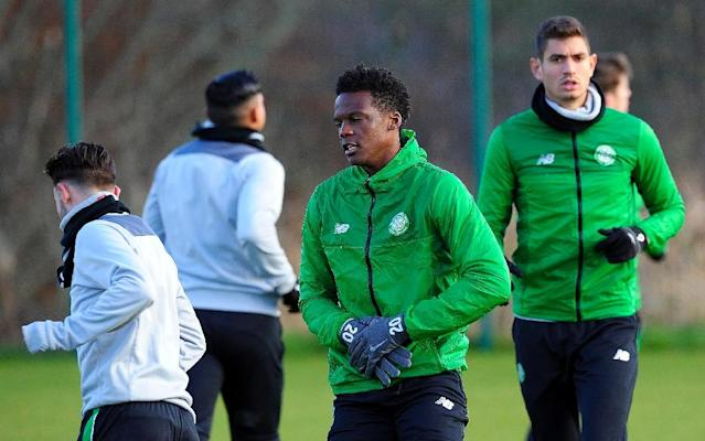 Winning this year's derby against Rangers is not a question of redmption, says Celtic's Dedryck Boyata (C) (AFP Photo/Andy Buchanan)