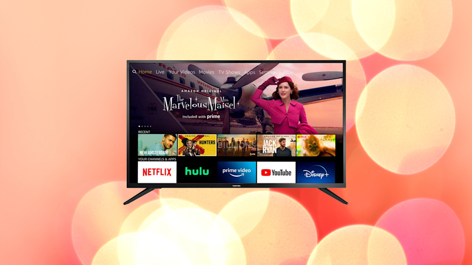 Toshiba 32-inch Smart HD TV—Fire TV Edition. (Photo: Amazon)