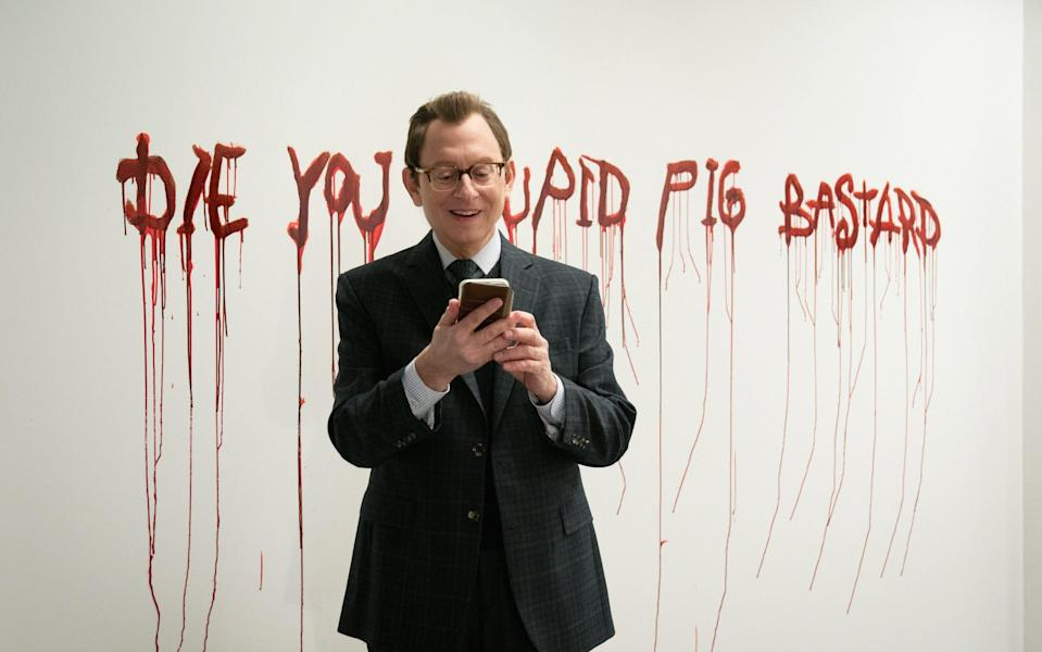 """Michael Emerson as Leland Townsend in """"Evil."""""""