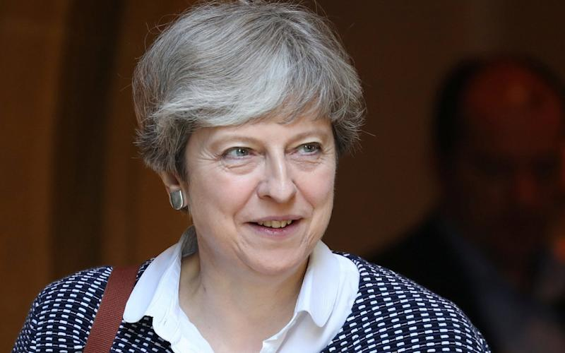 Theresa May, the Prime Minister - REUTERS