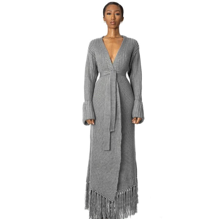 "<p>Nothing is more satisfying than wrapping yourself up in a <a href=""https://www.allure.com/gallery/loungewear-sets?mbid=synd_yahoo_rss"" rel=""nofollow noopener"" target=""_blank"" data-ylk=""slk:cozy knit blanket"" class=""link rapid-noclick-resp"">cozy knit blanket</a> after a long day of running errands or non-stop Zoom calls. Now imagine such a blanket in cardigan form. With its 100 percent Korean acrylic yarn and eight colorways, the Hanifa Miya Knit Cardigan Dress brings this uber cozy dream to life. </p> <p><strong>$209</strong> (<a href=""https://hanifa.co/products/miya-2"" rel=""nofollow noopener"" target=""_blank"" data-ylk=""slk:Preorder Now"" class=""link rapid-noclick-resp"">Preorder Now</a>)</p>"