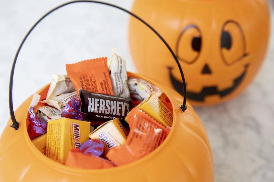 Hershey's Halloween chocolates are on sale on Amazon -- but only for today. (Getty Images)