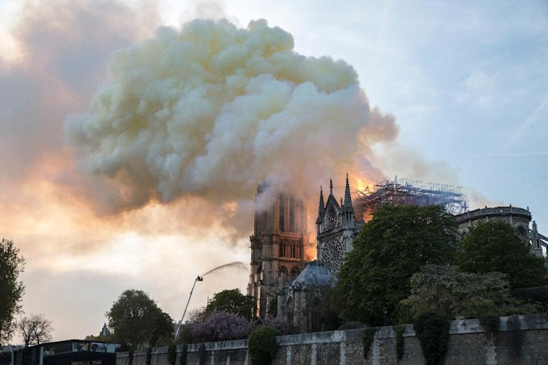 """The Notre-Dame blaze is being treated by French investigators as an """"involuntary fire"""""""