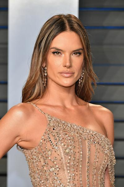 Alessandra Ambrosio posts sexy swimsuit pics after reports of split from her fiancé