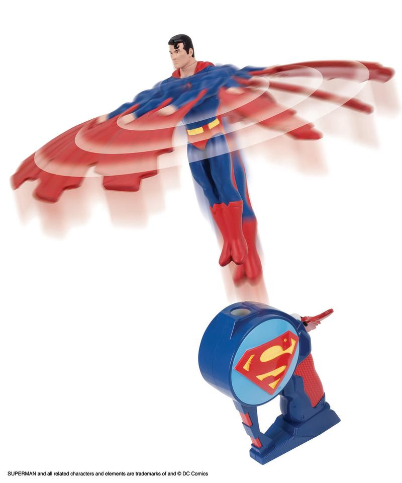 <b>Superman Flying Heroes</b> <br />The Bridge Direct