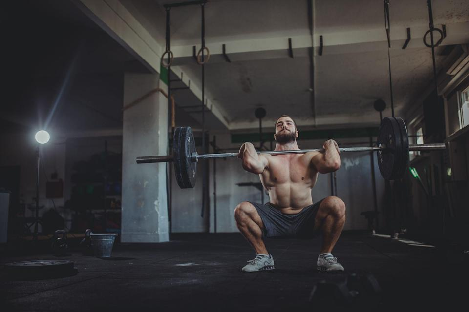 """<p> The idea that deeper squats are best for any fitness goal is strength-training gospel. That's why <a href=""""https://www.pjfperformance.net/about-us/"""" rel=""""nofollow noopener"""" target=""""_blank"""" data-ylk=""""slk:Fabritz"""" class=""""link rapid-noclick-resp"""">Fabritz</a>, who works with pro athletes, is somewhat of a heretic. His data-driven approach to training, which has been likened to an exercise science version of Moneyball, involves analysing squatting research and conducting tests on force plates, measuring how much force a person can put into the floor. He has discovered that deep <a href=""""https://www.menshealth.com/uk/building-muscle/a758849/how-to-do-squats-without-destroying-your-back/"""" rel=""""nofollow noopener"""" target=""""_blank"""" data-ylk=""""slk:squats"""" class=""""link rapid-noclick-resp"""">squats</a> are great for growing muscle, but quarter squats are superior for explosive speed, mirroring your jump position. Adding them to your routine can boost your athleticism on any field and even help you climb stairs. Here's the science.</p>"""