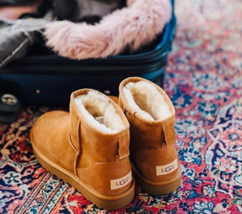 An airline is banning travelers from wearing UGG boots in their business lounges, and people are NOT happy