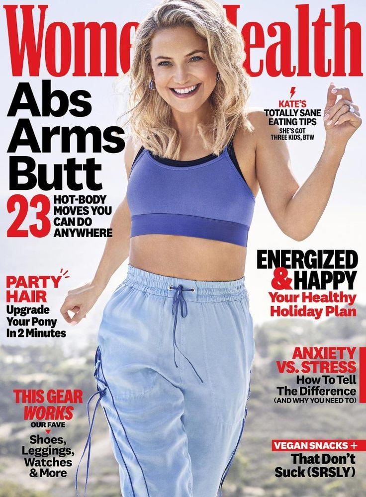 Kate Hudson covers Women's Health's December issue   Beau Grealy for Women's Health