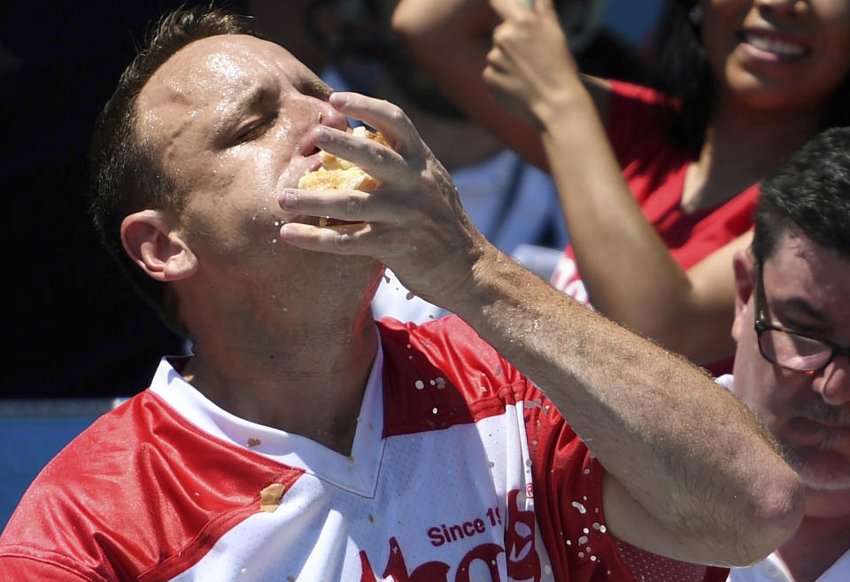 Once again, Joey Chestnut proved he is the best eater on the planet.