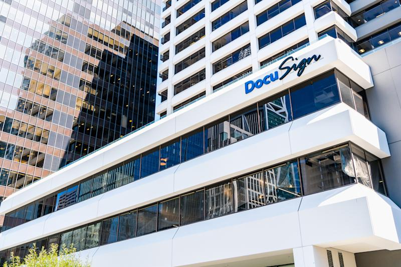 DocuSign headquarters in SOMA district, San Francisco