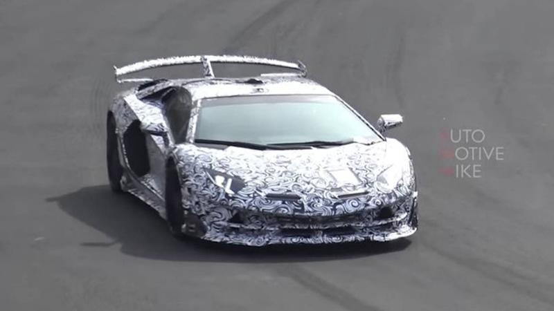 Lamborghini Aventador SVJ Video
