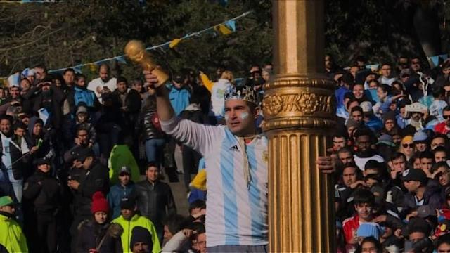 Football fans in Buenos Aires give their take after Argentina draws with Iceland 1-1 at the World Cup in Russia.