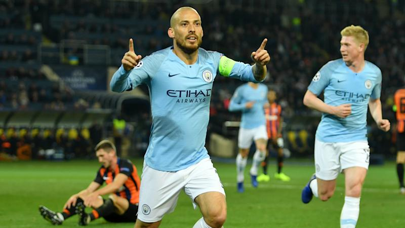 Shakhtar Donetsk 0 Manchester City 3: Silva sparkle to dominant display