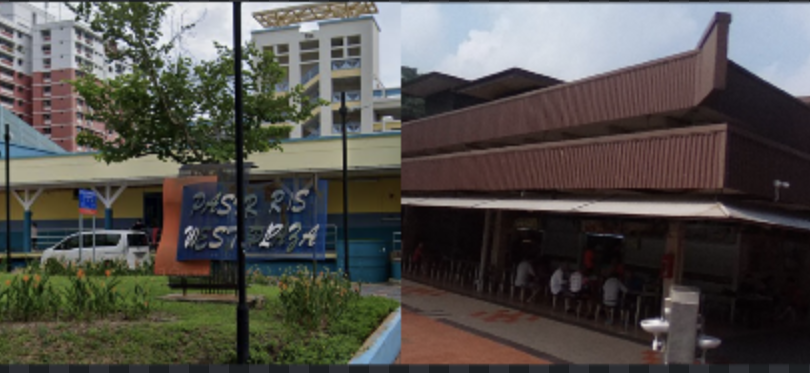 Pasir Ris West Plaza and Changi Village Hawker Centre added to places visited by COVID-19 cases as of 22 July 2020. (SCREENSHOTS: Google Maps)