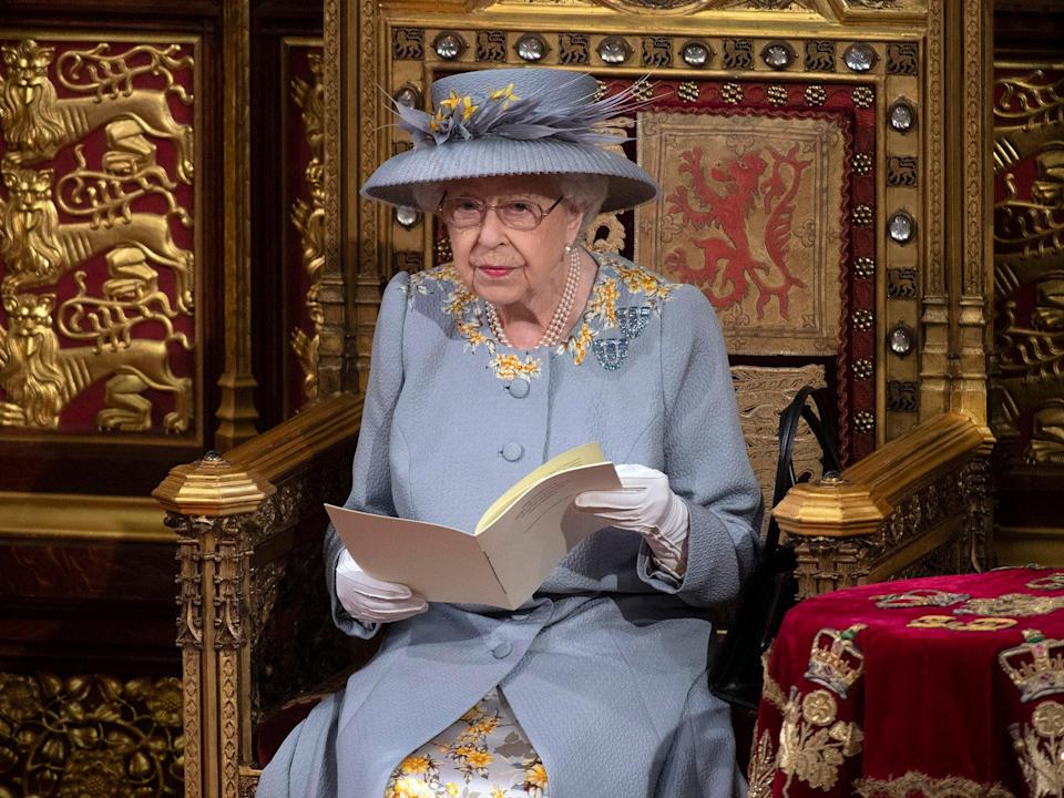 <p>A single line in the Queen's Speech yesterday morning stated simply: 'Proposals on social care reform will be brought forward'</p> (AP)