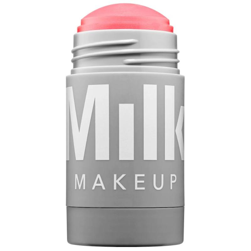 "Milk Makeup offers a gorgeous cheek and lip stick that makes makeup application quick and simple. And it's especially great for traveling.<strong><br /><a href=""https://www.sephora.com/product/lip-cheek-P404799"" target=""_blank""><br />Milk Makeup lip + cheek stick</a>, $24</strong>"