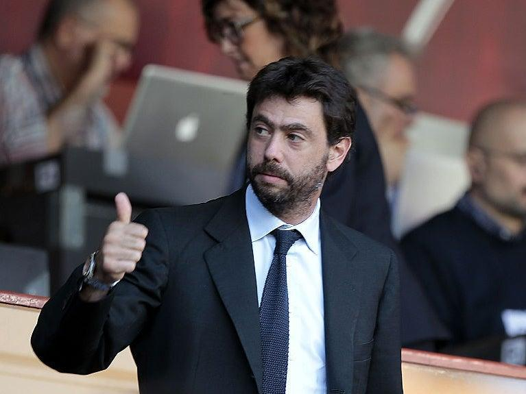 <p>Agnelli's comments come less than 24 hours after the collapse of the Super League</p> (Getty Images)
