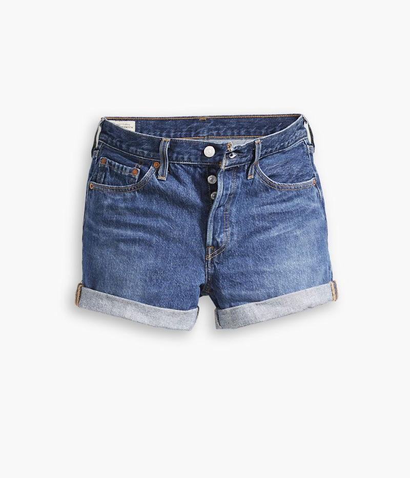 Levi's 501 Long Shorts in Blue Clue (Photo: Levi's)