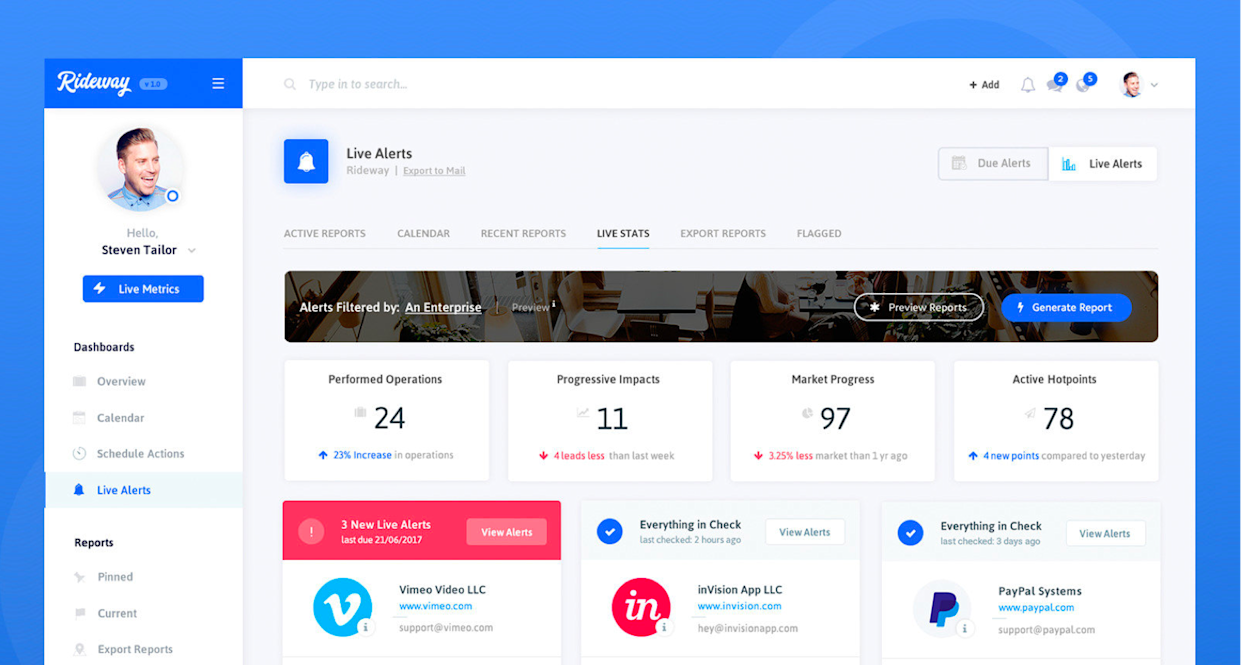 "Dashboard design by Toptal designer <a href=""https://www.toptal.com/designers/resume/stelian-subotin"" rel=""nofollow noopener"" target=""_blank"" data-ylk=""slk:Stelian Subotin"" class=""link rapid-noclick-resp"">Stelian Subotin</a>."