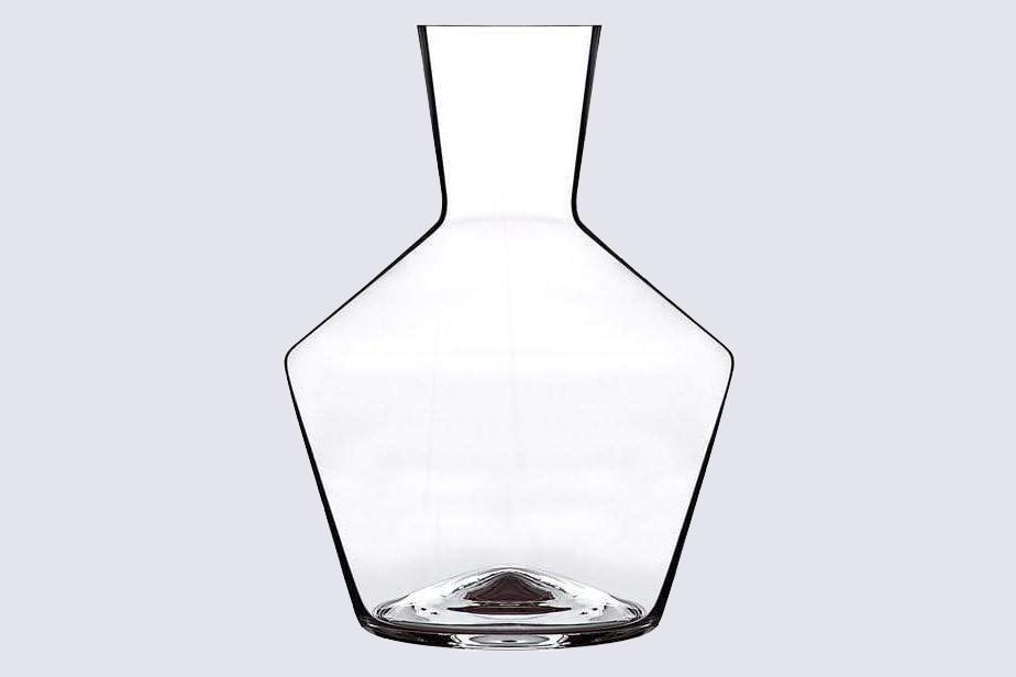 """<p>Each curve of this hand-blown decanter was inspired by the tilt angles of the earth to encourage the blooming of a wine's heady aroma and taste. It's available in two shapes: The wider Mystique is just right for full-bodied or younger red wines, while the Axium is optimal for full-bodied reds.</p> <p><strong><em>Buy Now:</em></strong> <em>Zalto Denk'Art Axium or Mystique Wine Decanter, $134, <a href=""""https://click.linksynergy.com/deeplink?id=93xLBvPhAeE&mid=37615&murl=https%3A%2F%2Fahalife.com%2Fcollections%2Fdecanters%2Fproducts%2Fzalto-hand-blown-wine-decanter&u1=MSL15GiftIdeasfortheWineLoversinYourLifeameyerChrGal7993256202010I"""" rel=""""nofollow noopener"""" target=""""_blank"""" data-ylk=""""slk:ahalife.com"""" class=""""link rapid-noclick-resp"""">ahalife.com</a></em><em>.</em></p>"""