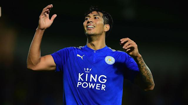 Leicester City have confirmed Leonardo Ulloa has been allowed to leave, joining Pachuca in Mexico's Liga MX.