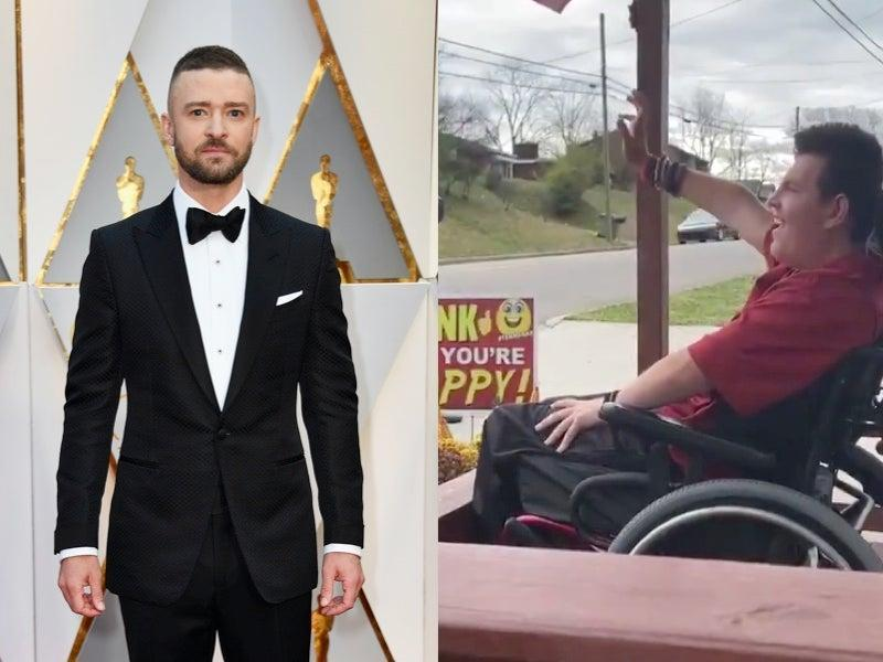 Justin Timberlake buys teen with cerebral palsy a wheelchair-accessible van (Getty/WJHL)