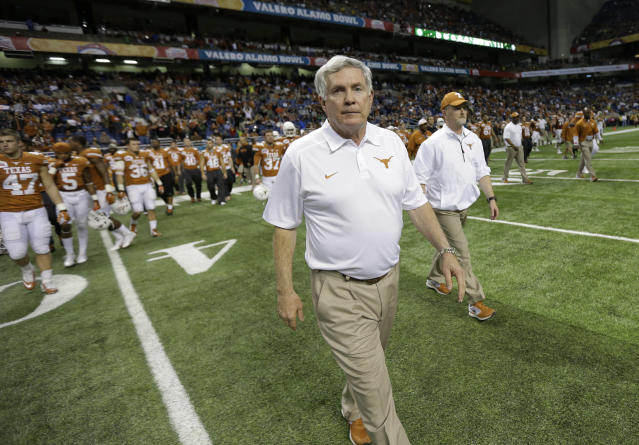 Mack Brown coached at UNC from 1988-97 before leaving for Texas. (AP file photo)
