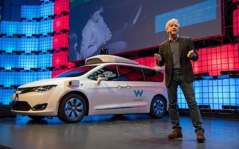Waymo, a subsidiary of Google, is one of the firms developing driverless cars - Credit: Getty