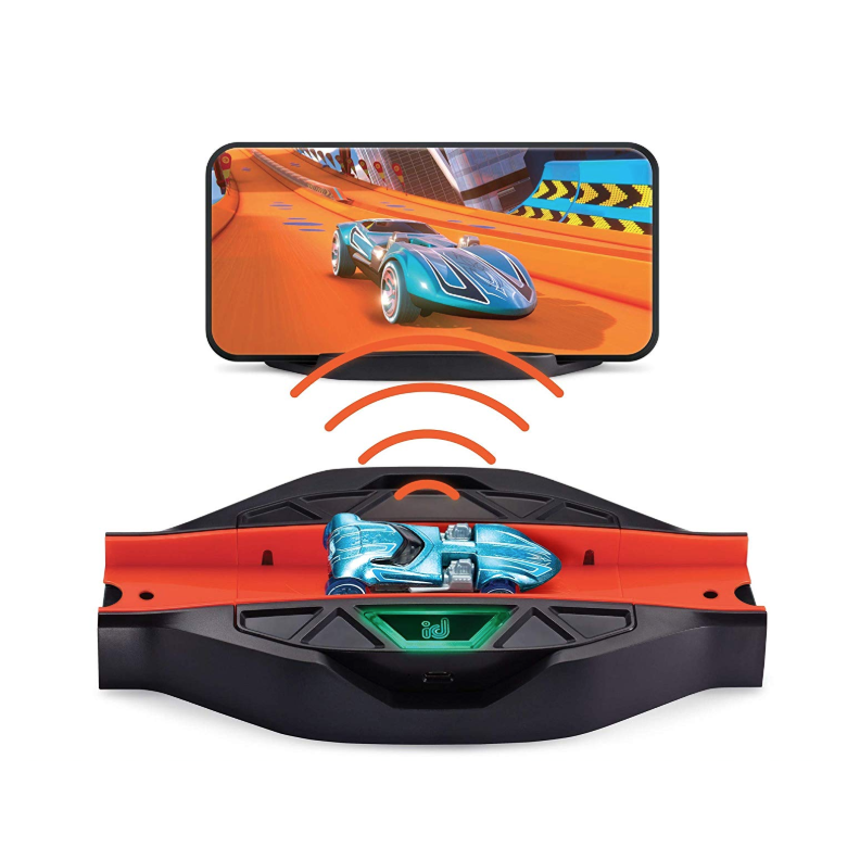 "<p><strong>Hot Wheels</strong></p><p>amazon.com</p><p><strong>$18.29</strong></p><p><a href=""https://www.amazon.com/dp/B07NDXGJK3?tag=syn-yahoo-20&ascsubtag=%5Bartid%7C10055.g.29513983%5Bsrc%7Cyahoo-us"" rel=""nofollow noopener"" target=""_blank"" data-ylk=""slk:Shop Now"" class=""link rapid-noclick-resp"">Shop Now</a></p><p>Once he scans his Hot Wheels id car into the app, he'll have <strong>access to virtual games, tracks and cars to race</strong>. And when he's not playing mini-games on the app, he can attach the physical race portal to another Hot Wheels track he owns (sold separately) for extended play. <em>Ages 8+</em></p>"