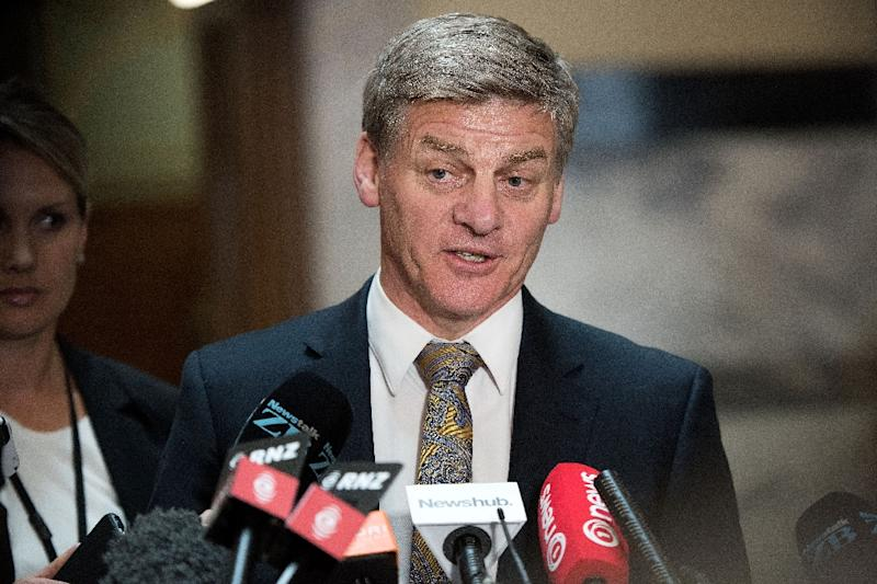 New Zealand Prime Minister Bill English says it is regretable that the US didn't waive immunity so police investigating a serious crime could question a diplomat (AFP Photo/MARTY MELVILLE)