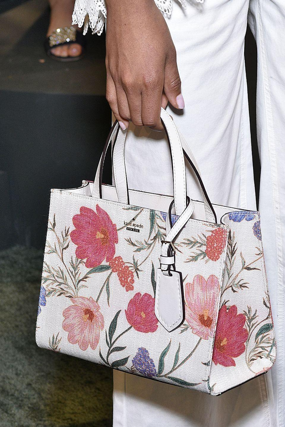 <p>This was the boxiest bag in the best way possible, and it seemed like everyone owned one. The late Kate Spade designed the waterproof nylon purse when she started the company in 1993, and it became so iconic that it was relaunched in 2018, seen here. </p>
