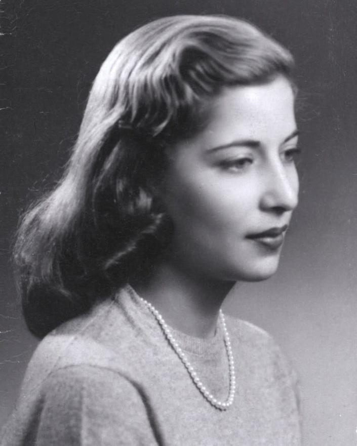Ruth Bader as a senior at Cornell University, December 1953. (Photo: Supreme Court of the United States)