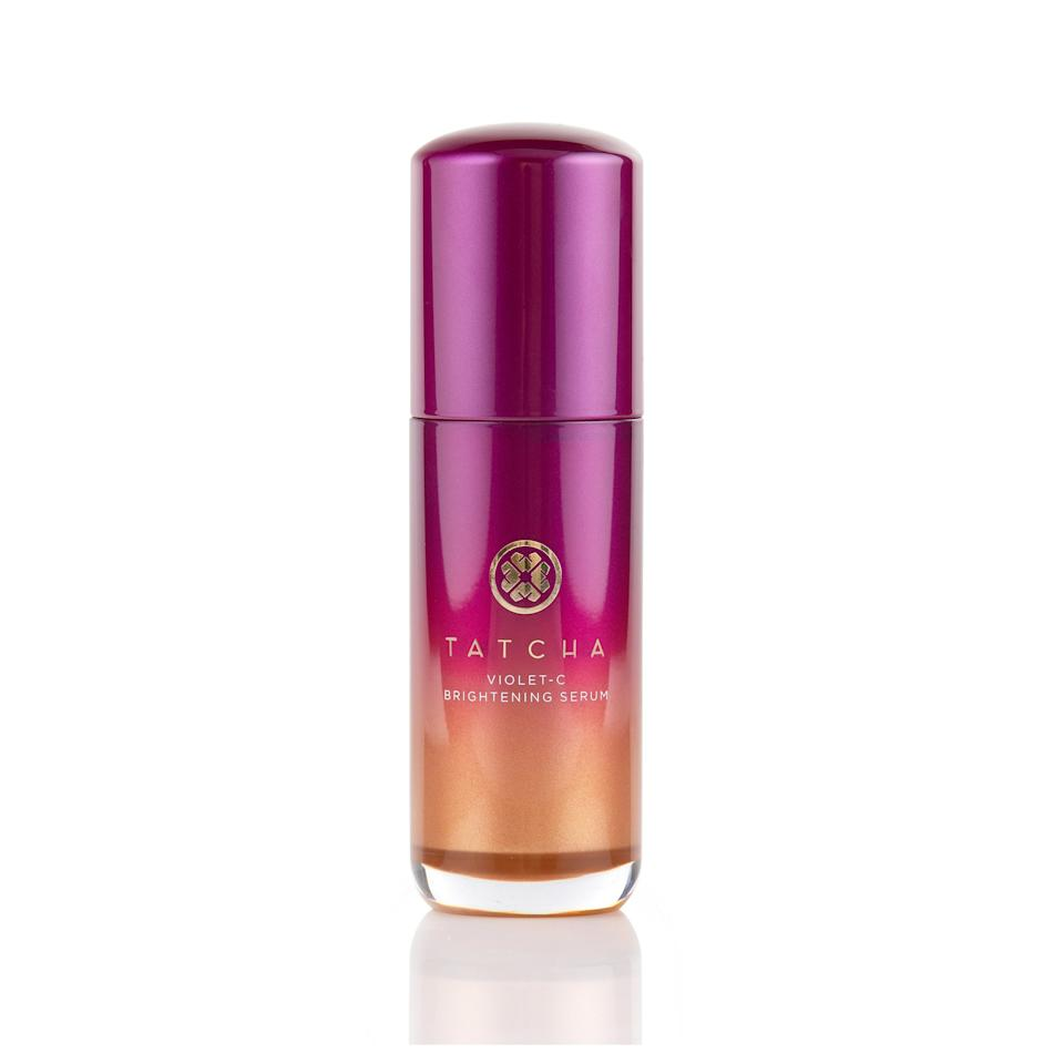 """<p>Vitamin C may not be the new kid on the skin-care ingredient block, but it remains one of the most popular year after year. Building on the success of their Violet-C Radiance Mask, this new oil- and fragrance-free serum packs a whopping 20 percent concentration of vitamin C (and two different types at that) to deliver both instant and long-term results. A 10 percent concentration of AHAs joins the mix, too, all working together to leave your skin firmer, smoother, and noticeably more glow-y.</p> <p>$88 (<a href=""""https://www.tatcha.com/product/VIOLET-C-SERUM.html"""" rel=""""nofollow"""">Shop Now</a>)</p>"""