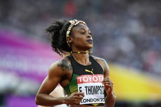 Thompson leads favourites into 100m final