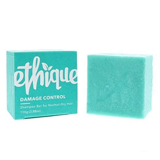 <p>Coconut oil and cocoa butter combine in the <span>Ethique Damage Control Shampoo Bar</span> ($16), which is designed for dried-out and color-treated hair.</p>