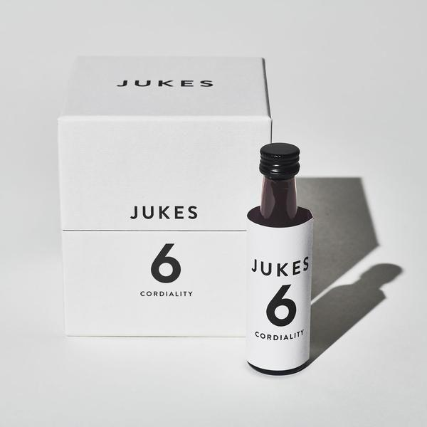 """<p><a class=""""body-btn-link"""" href=""""https://jukescordialities.com/collections/jukes-1-collection/products/jukes-6-giftbox"""" target=""""_blank"""">SHOP</a></p><p>Created by a wine critic, these are grown-up cordials (lower on sugar, higher in vinegar) designed to mimic the savoury qualities and mouthfeel of wine whilst not attempting to replicate the stuff outright. No. 1 is made with pineapple and citrus (like a white) whilst No. 6 is full of berries (red). They come in swanky packaging and tiny bottles, to be added to still or sparkling water, or tonic. Carbonated options will give you a refreshing sort of seltzer but give the plain old still a try and, with No. 6 in particular, you'll be surprised at how satisfying it is – sits happily alongside food.</p><p>£35 / 9 x 30ml bottles; 0.0% ABV</p>"""